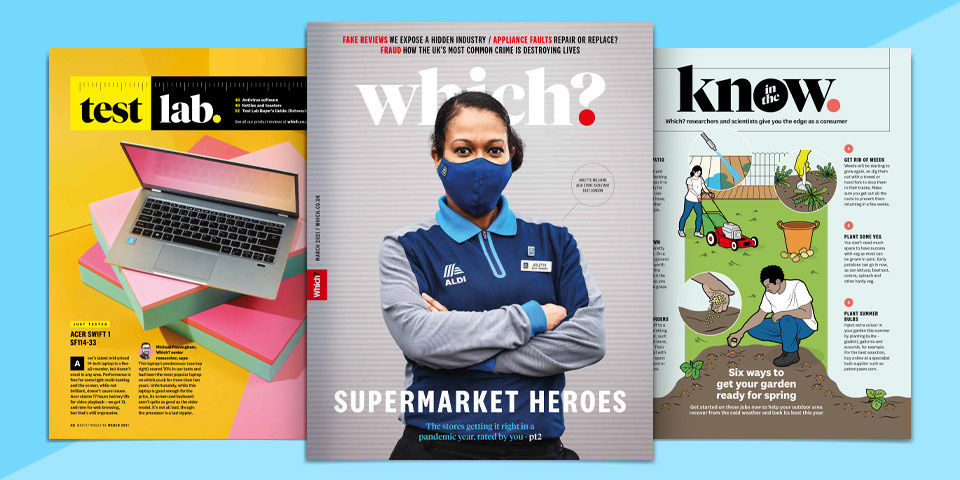 What's new in Which? magazine: March 2021