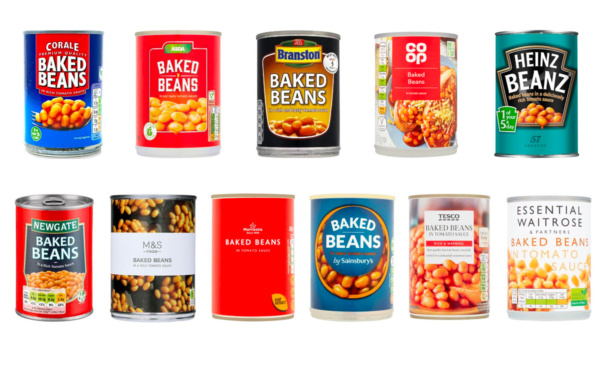 Which? baked beans taste test