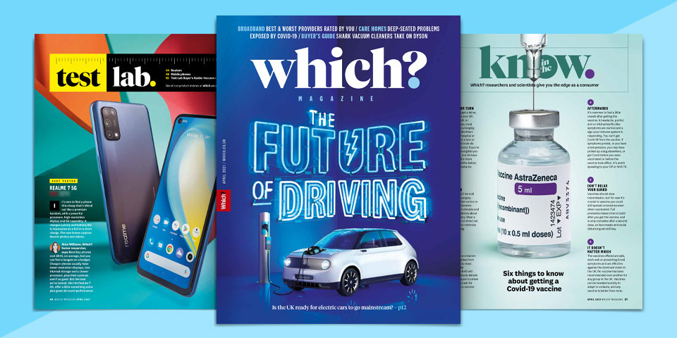 What's new in Which? magazine: April 2021