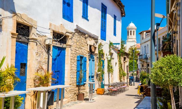 Cyprus pretty town scene