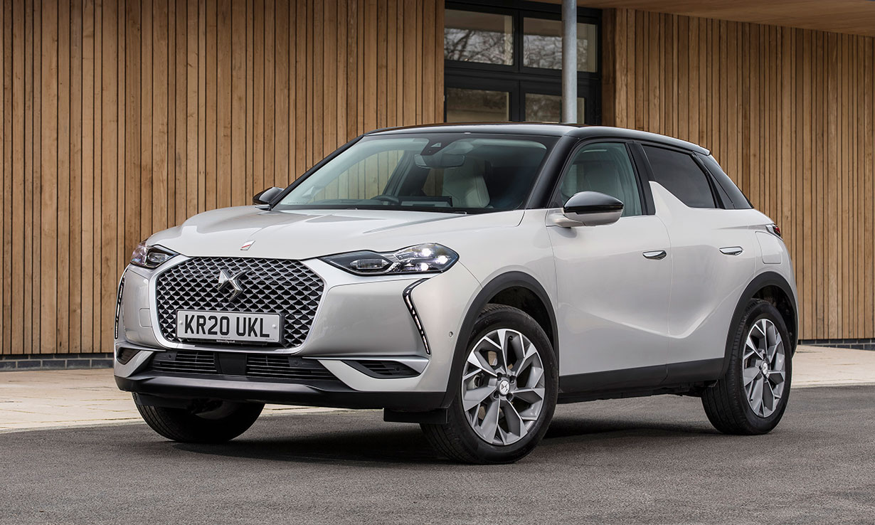 DS 3 Crossback E-Tense electric car