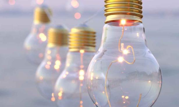 Lumify vintage bulb solar lights.