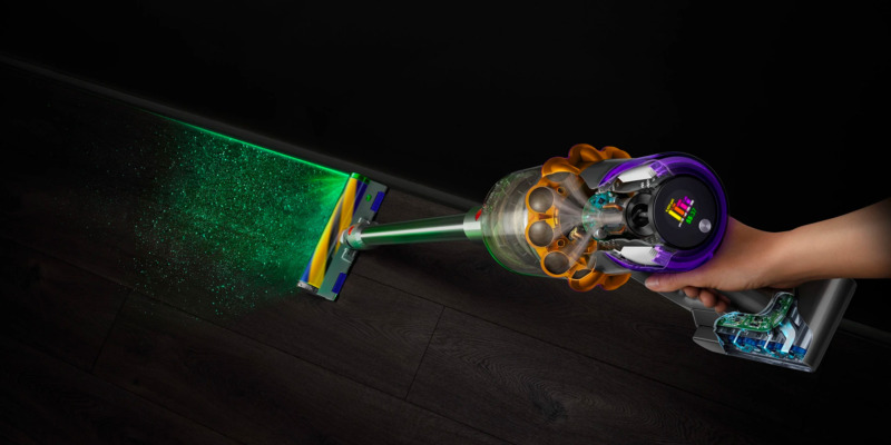 Dyson's V15 Detect is its most futuristic cordless vacuum yet