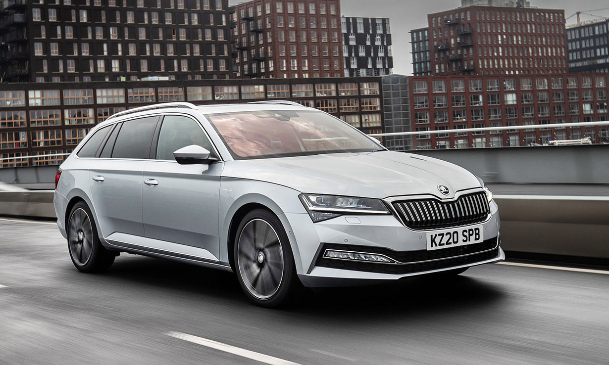 Skoda Superb Estate Plug-in Hybrid car