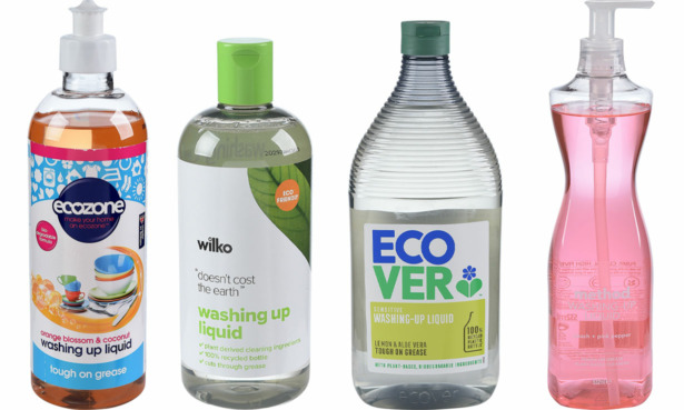 Eco friendly washing-up liquids