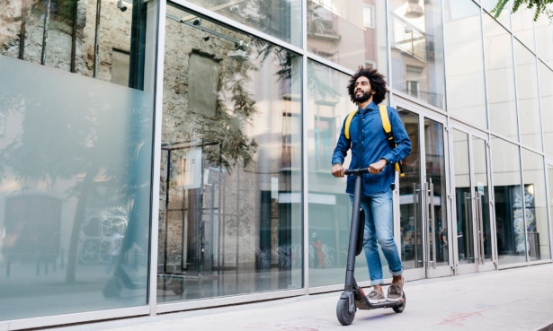 Electric scooter sales are rising, but you still can't ride them in public