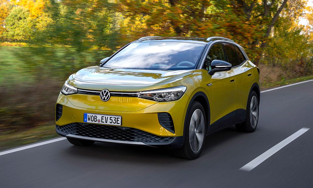 Volkswagen ID.4 electric car